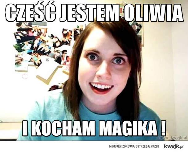 Cześć jestem Oliwia