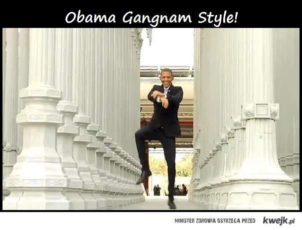 Obama Gangnam Style!