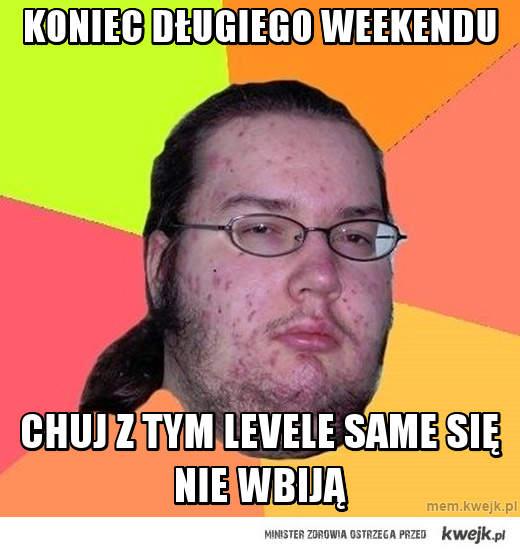 Koniec długiego weekendu