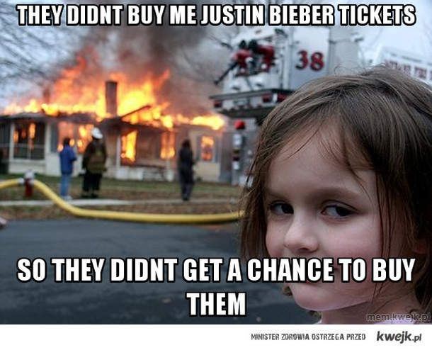 they didnt buy me justin bieber tickets