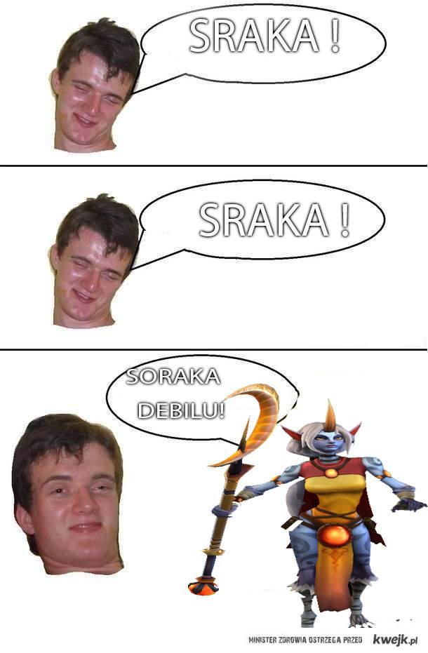 SRAKA!
