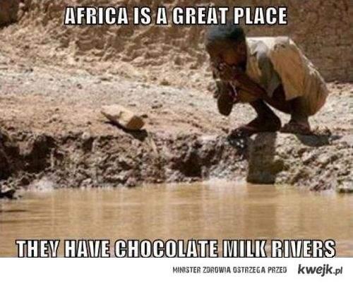 Afryka to wspaniałe miejsce