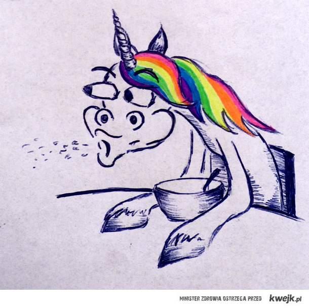 Cereal unicorn