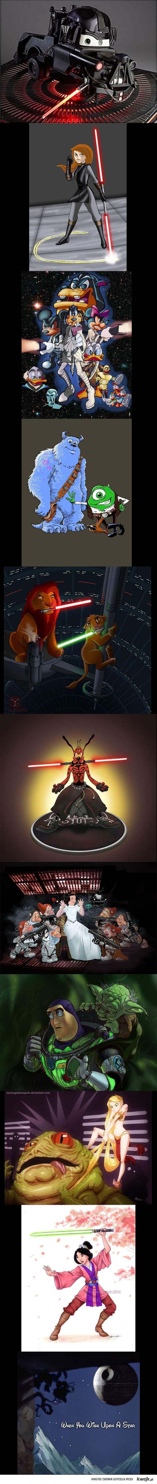 Gwiezdne wojny Disneya