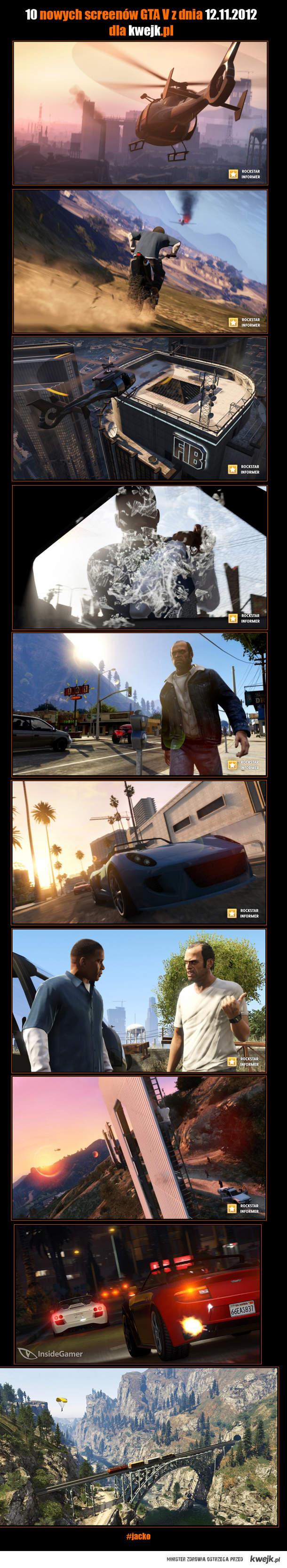 GTA V - nowe screeny