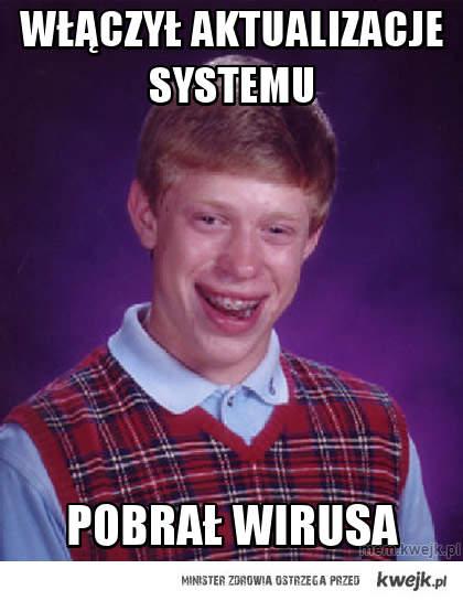 Włączył aktualizacje systemu