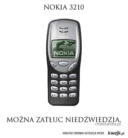 Bo nokia 3310 jest zbyt mainstreamowa