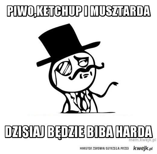 piwo,ketchup i musztarda