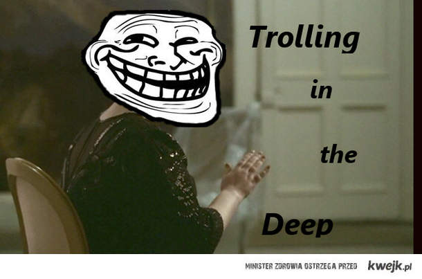 Trolling on the deep