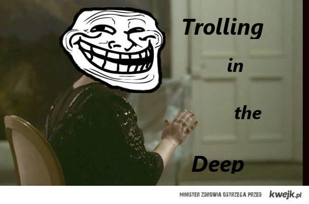 Trolling on the deep
