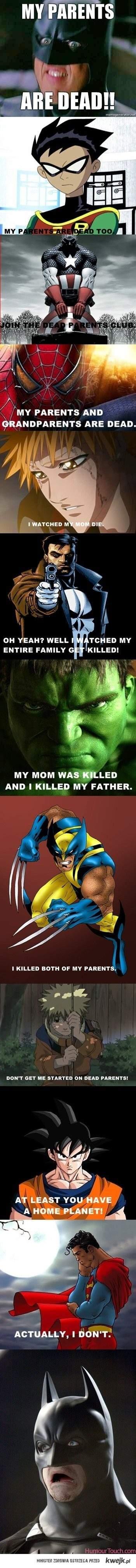 Sad story, Batman.