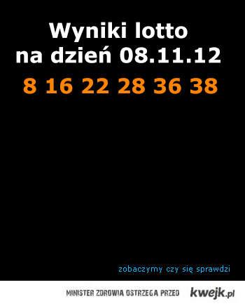 lotto 08.11.2012