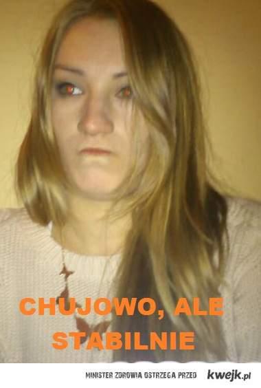 chujowo