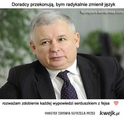 Kaczyński zmienia styl