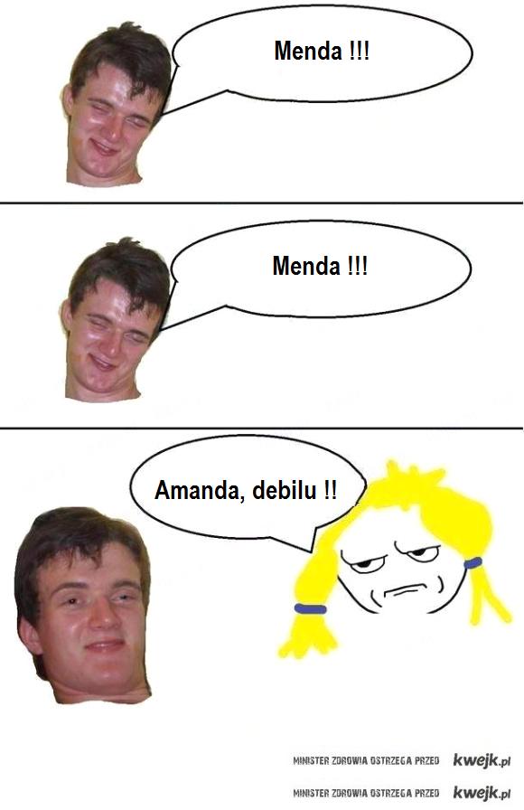Zbyszek wola Amanda