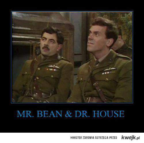 bean and house