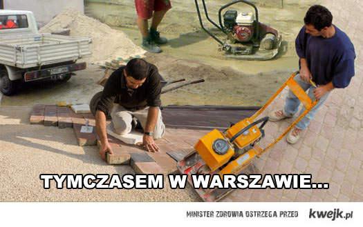 Tymczasem w Warszawie po Marszu