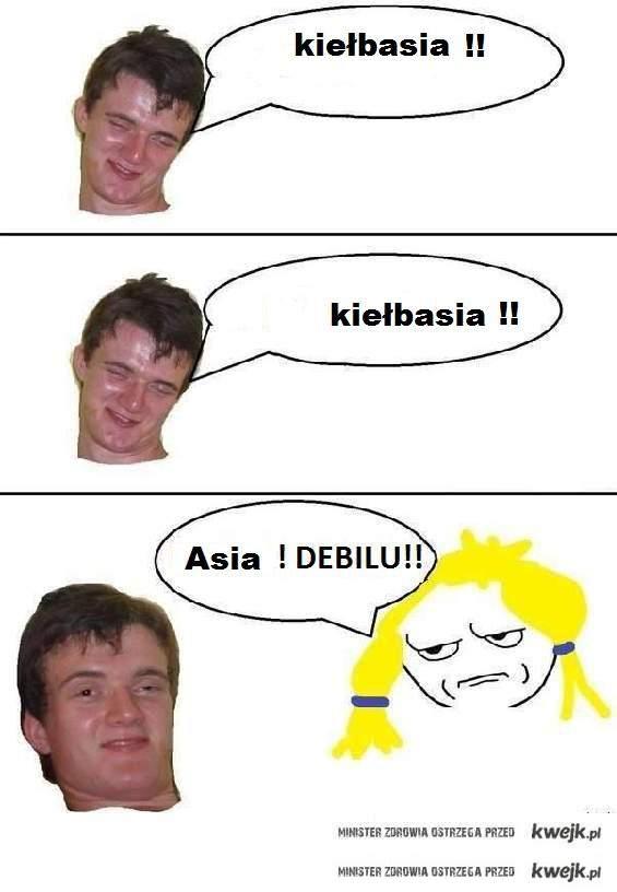 Asia kiełbasia :]