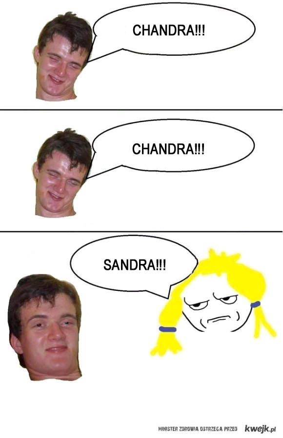 Sandra!