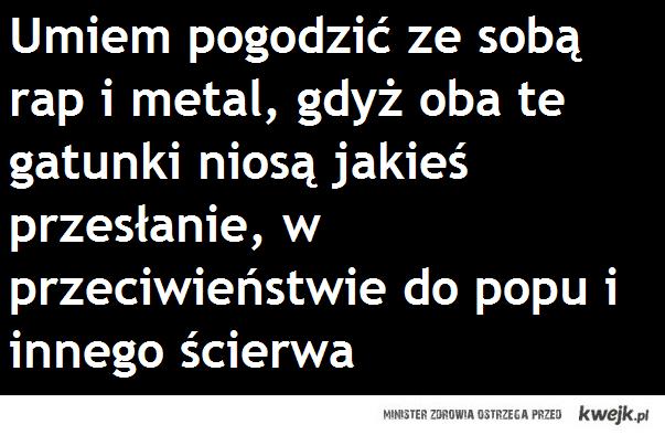 Metal i Rap