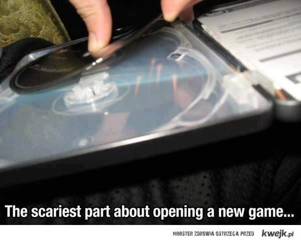 Otwieranie nowej gry