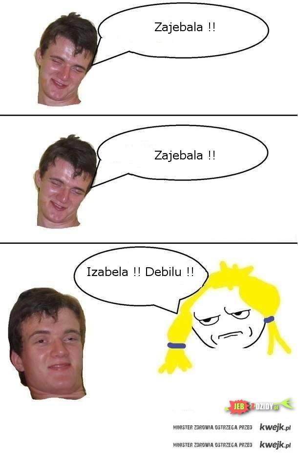 Izabela...