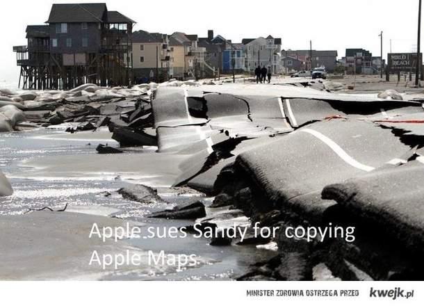 Sandy pozywa Apple