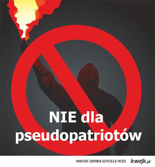 Nie dla pseudopatriotów