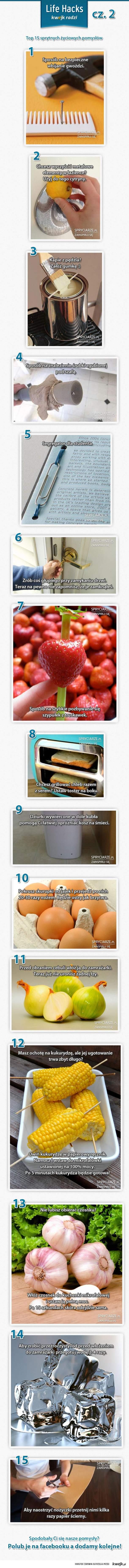 Top 15 zaskakujących pomysłów