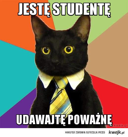 jestę studentę