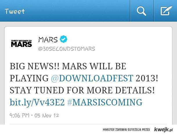MARS IS COMING
