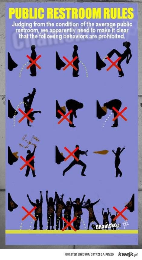Zasady WC ;)