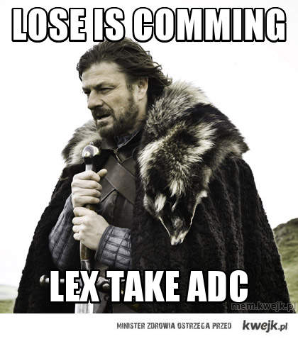 lose is comming