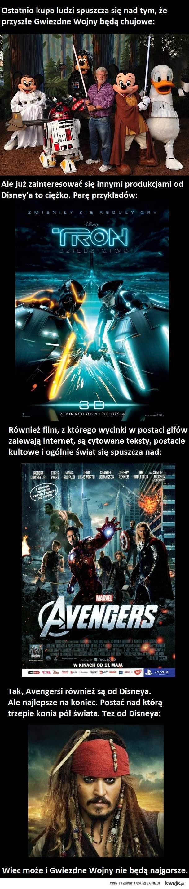 Star Wars od Disneya