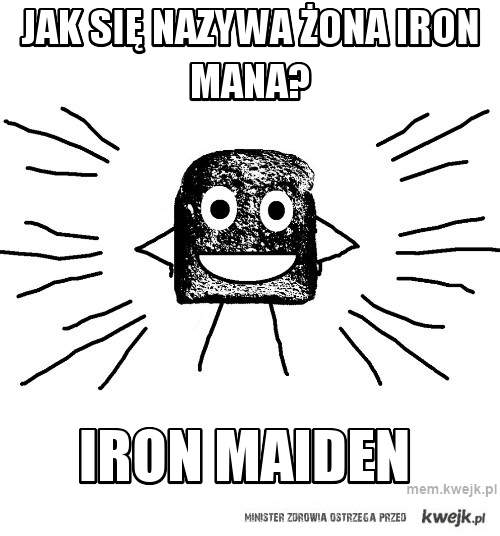 jak się nazywa żona iron mana?