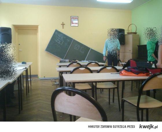 patologia w polskich szkołach ;d