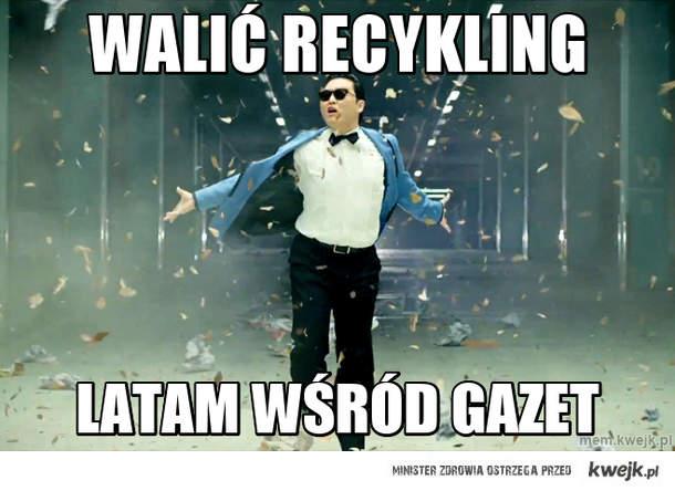 Walić recykling