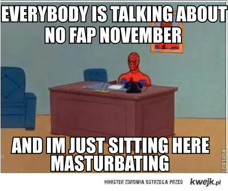 no fap november
