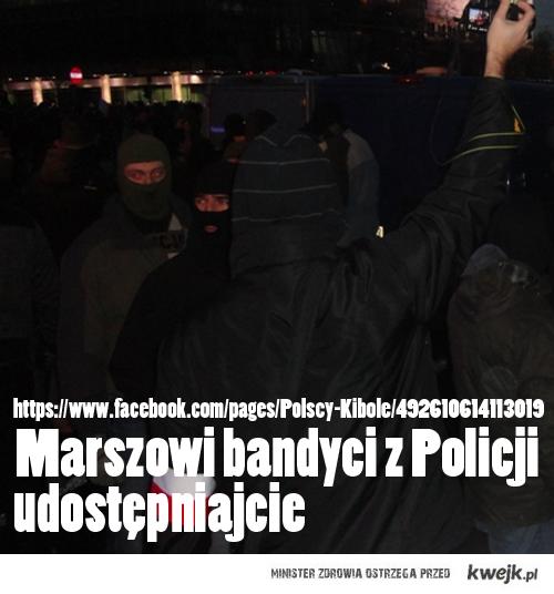 Niech cała Polska zobaczy jak było naprawdę w Warszawie. zapraszamy na fan page podany na obrazku.