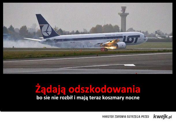Pasażerowie LOTu z 1.11.2011r,