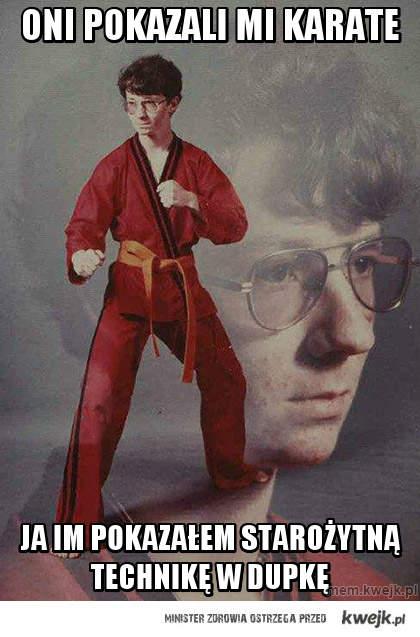 oni pokazali mi karate