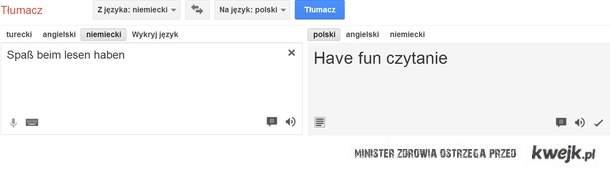 translator have fun