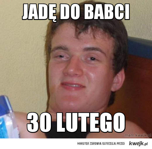 jadę do babci