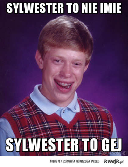 sylwester to nie imie