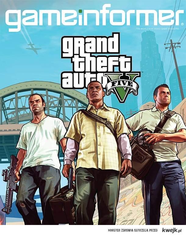 Grand Theft Auto V, bitch!