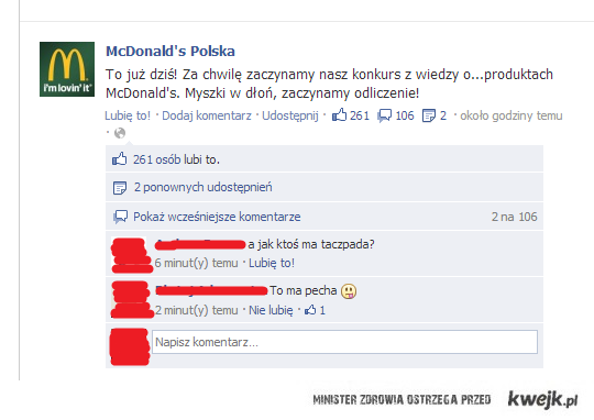 Facebook-Mc Donald's