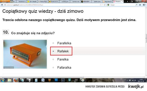 Rafałek?