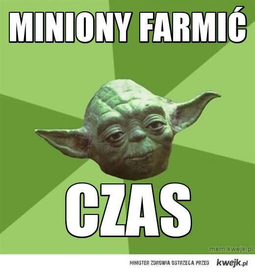 miniony farmić