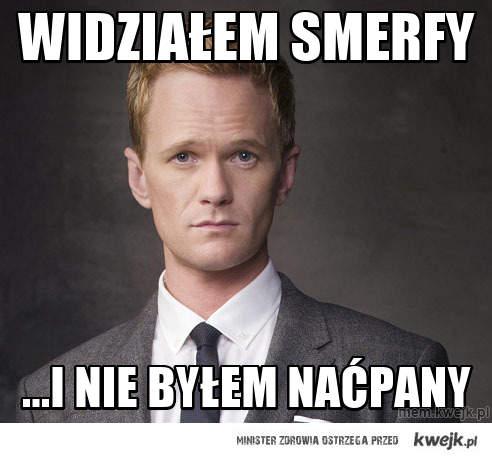 Widziałem Smerfy