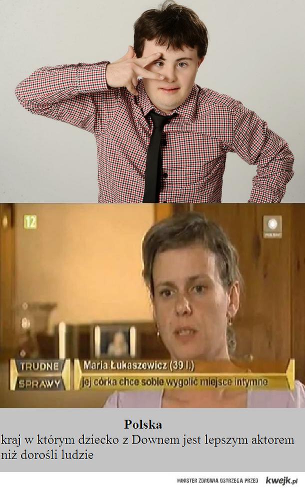 Polska to kraj z dobrymi aktorami